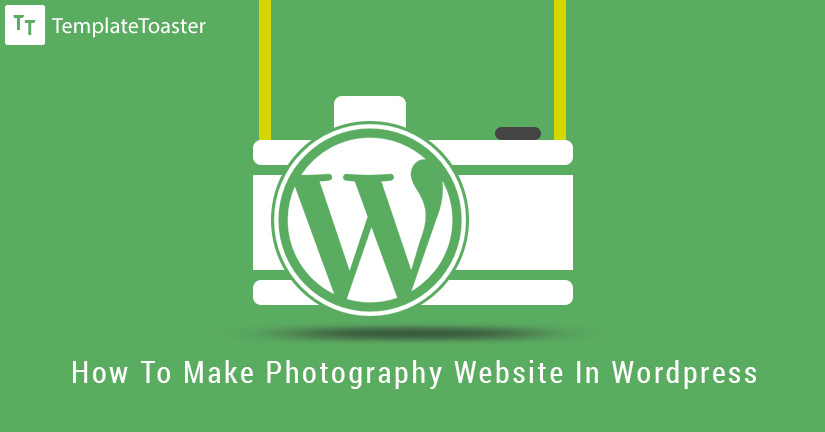 how to make a photography website in wordpress featured image