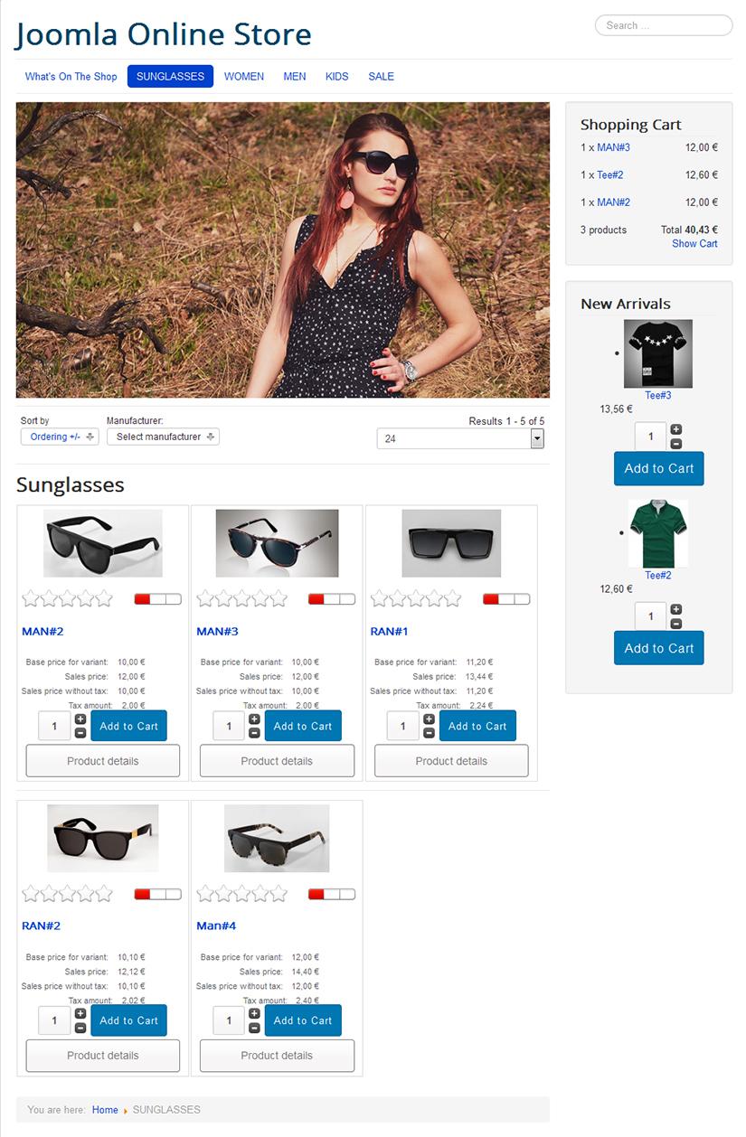 New Screenshot of Shopfront