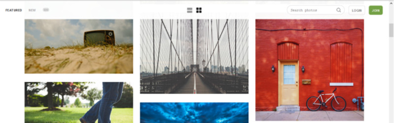 бесплатные изображения по Unsplash