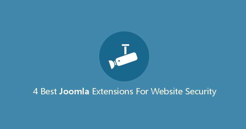 4 Best Joomla Extensions for Website Security