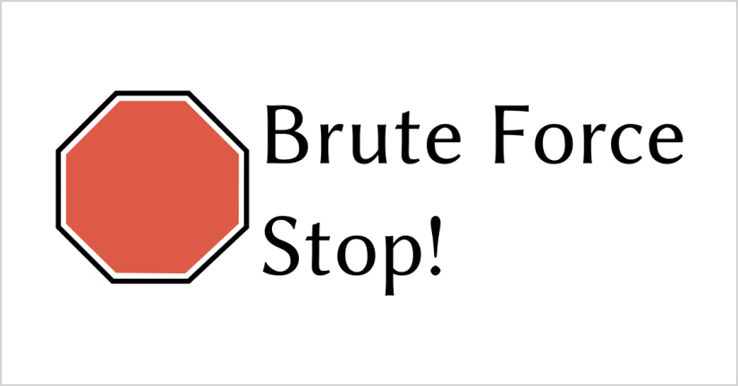 Brute Force Stop
