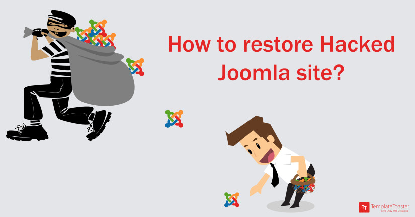 How to restore hacked joomla site