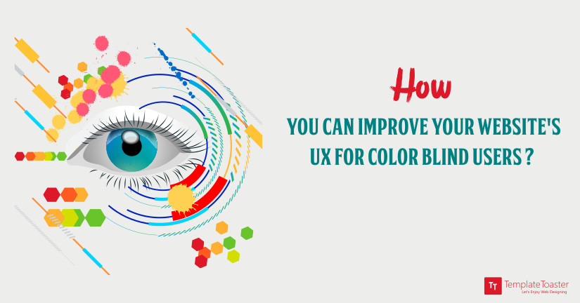 How you can imporve your website's UX for color blind users