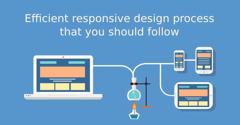 Efficient responsive design process that you should follow