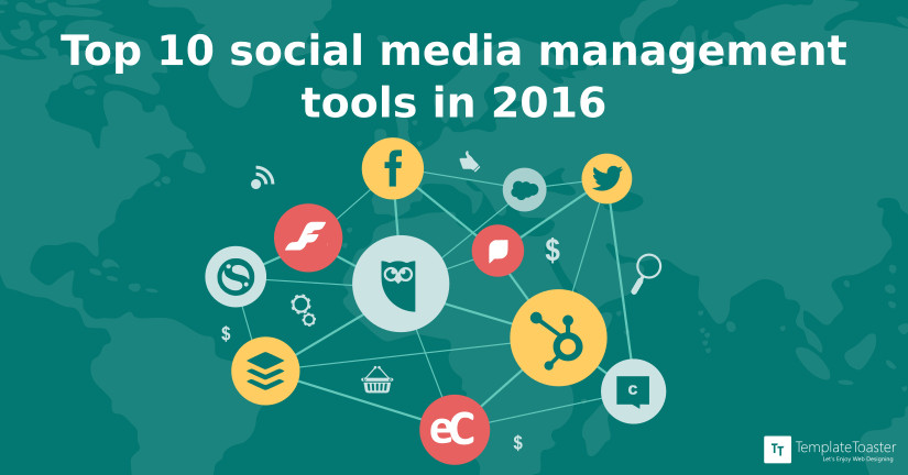 Top 10 social media management tools in 2016