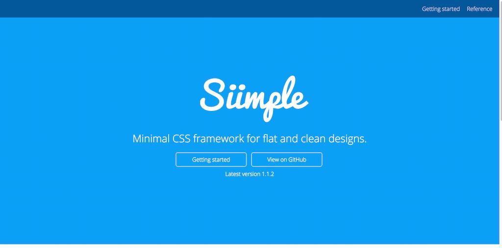 siimple framework