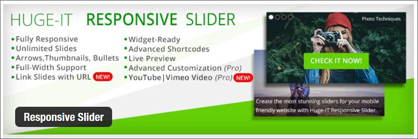 huge-IT responsive slider wordpress slider plugin