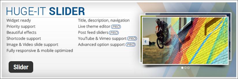 huge-it slider wordpess slider plugin