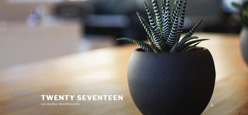 Twenty Seventeen latest WordPress 4.7 Update Theme