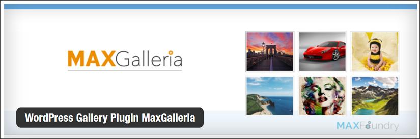WordPress Gallery Plugin MaxGalleria wordpress slider plugin