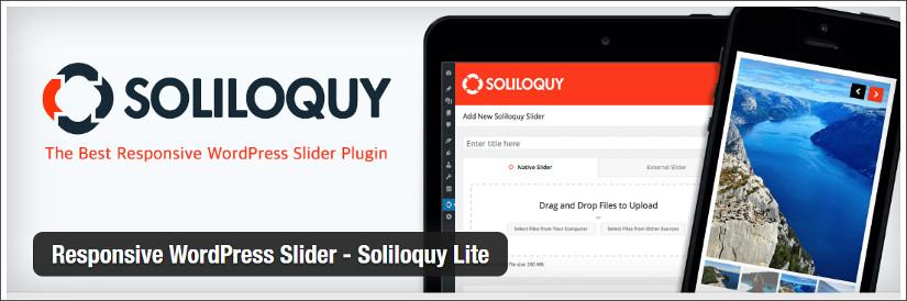 soliloquy lite wordpress slider plugin