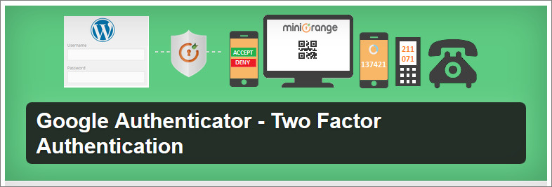 Google Authenticator - Two Factor Authentication plugin
