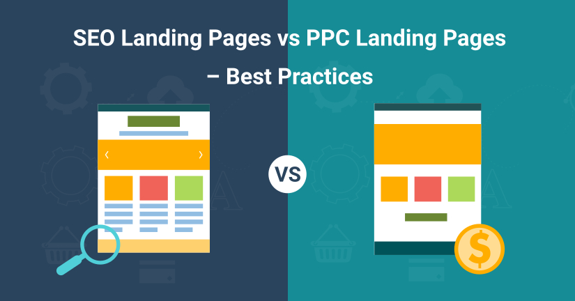 seo landing pages vs ppc landing pages blog image