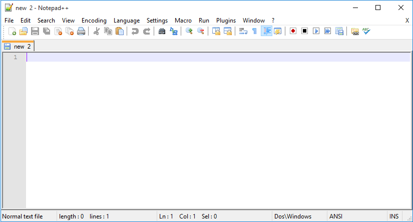 create simple HTML page notepad++ screenshot