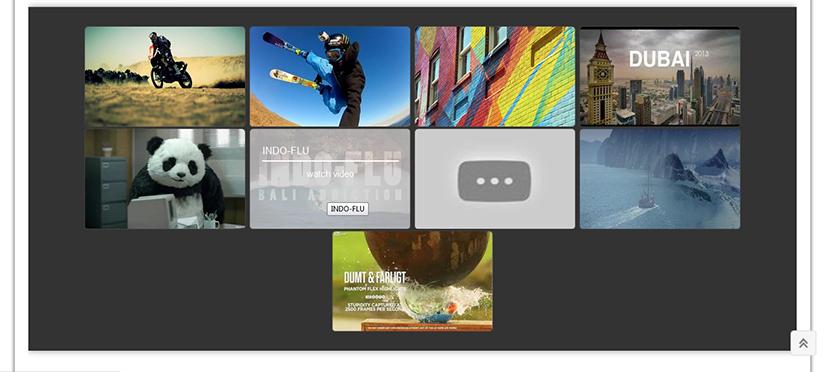Demo gallery made using Huge IT Gallery plugin
