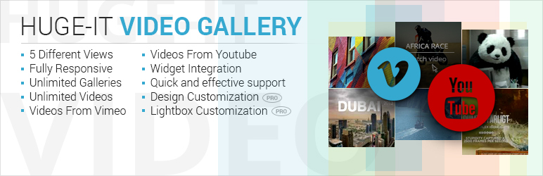 Huge IT Video Gallery plugin banner