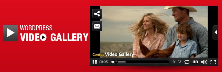 WordPress Video Gallery Plugin banner