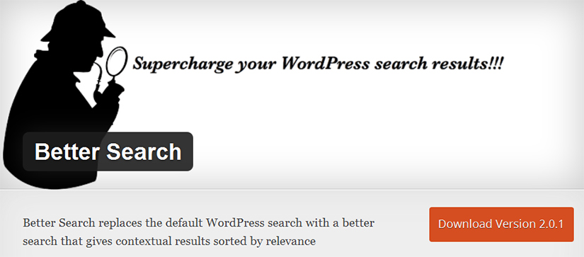Better search plugin