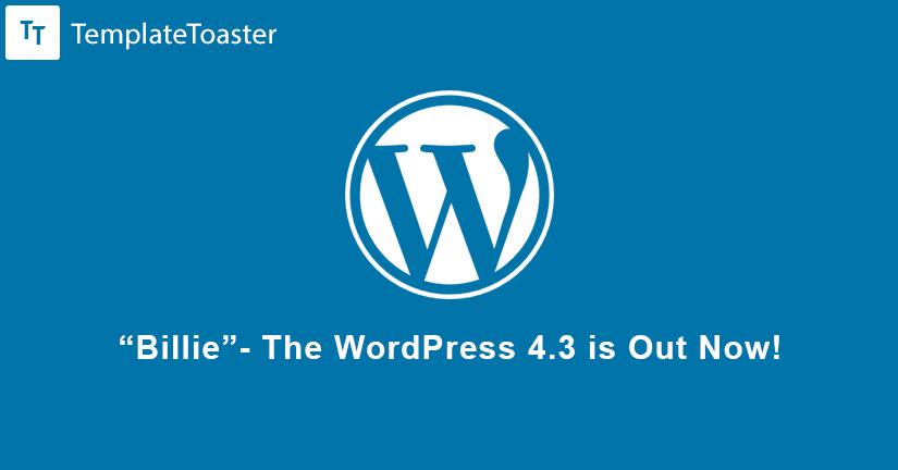 WordPress Billie