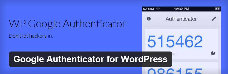 Google Authenticator for WordPress