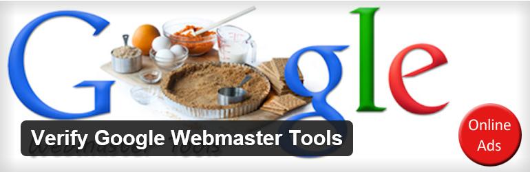 Verify Google Webmaster Tools