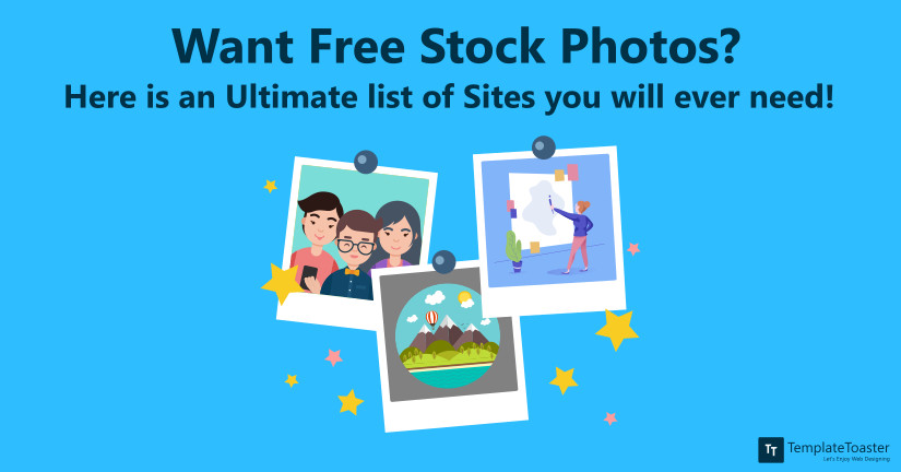 Free Stock Photos sites list blog