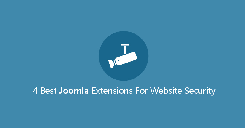 4 Best Joomla Extensions for Website Security