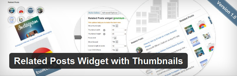 Related Posts Widget with Thumbnails