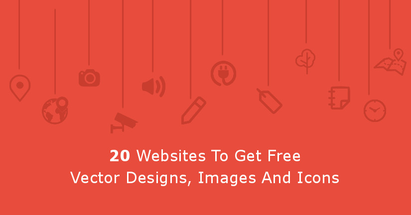 20 Websites To Get Free Vector Designs, Images, and Icons