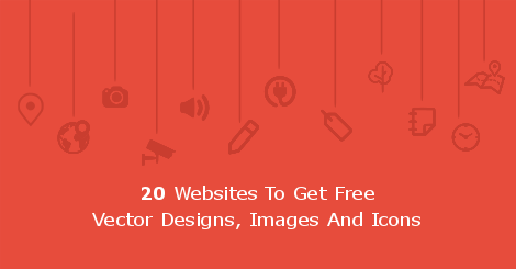 20 Websites To Get Free Vector Designs, Images And Icons