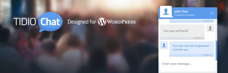 Tidio wordpress Live Chat