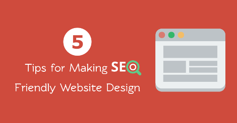 5 tips for making SEO friendly website design