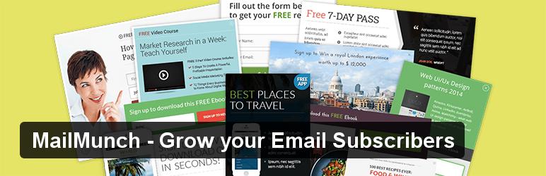 MailMunch WordPress subscription plugin