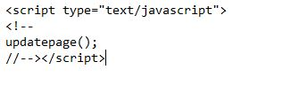 Calling JavaScript