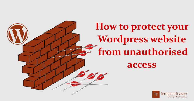 How to protect your wordPress website from unauthorised access