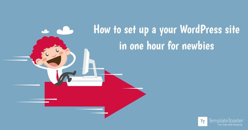How to set up your WordPress site in one hour for newbies
