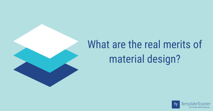 What are the real merits of material design