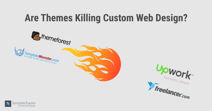Are Themes Killing Custom Web Design