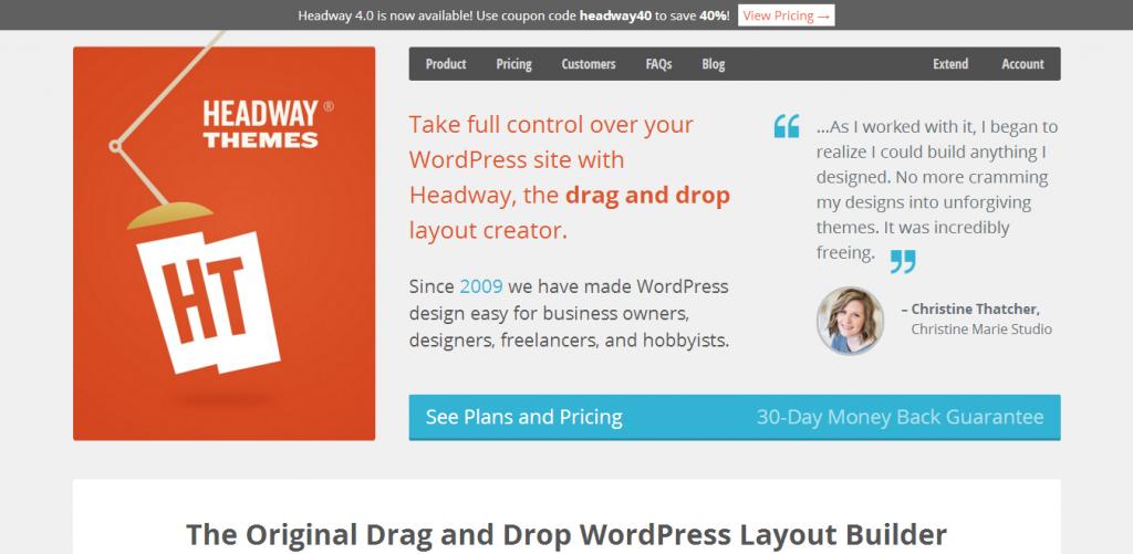 WordPress Headway framework