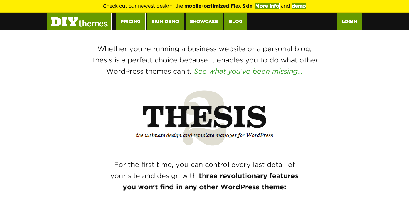 change get smart with the thesis wordpress theme from diythemes How to change line spacing in dreamweaver video tutorial how to change line spacing in dreamweaver get smart with the thesis wordpress theme from.