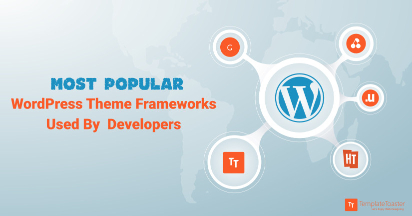 Most popular WordPress Theme Frameworks Used By Developers