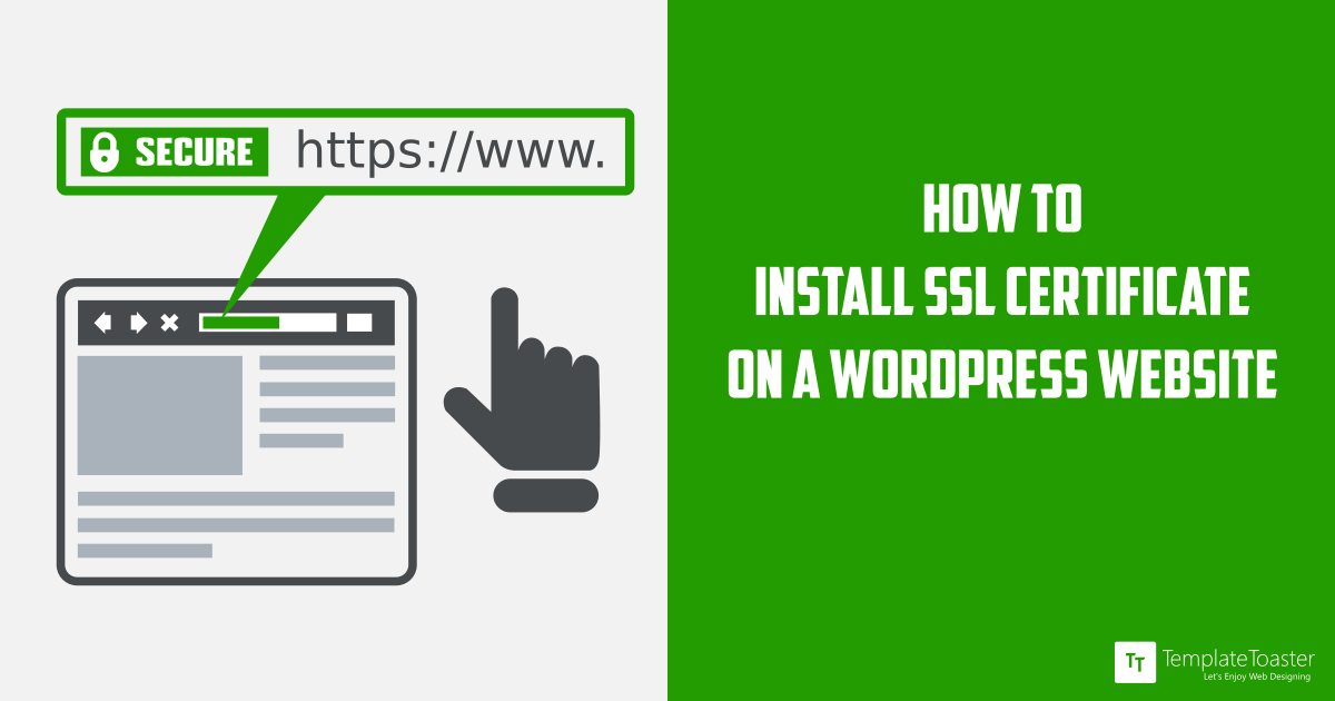 How To Addinstall Ssl Certificate On Wordpress Website