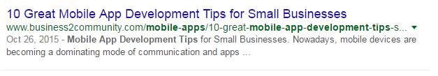 mobile app development tips