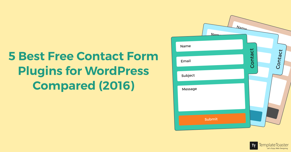 5 Best WordPress Contact Form Plugins (Pros & Cons