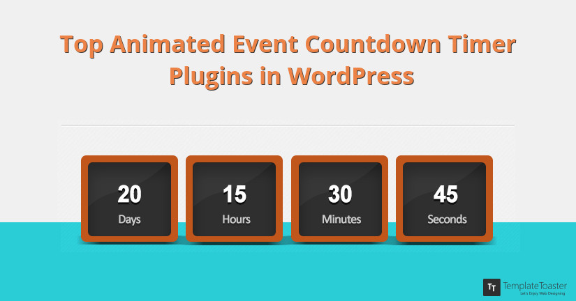 Top Animated Event Countdown Timer Plugins in WordPress