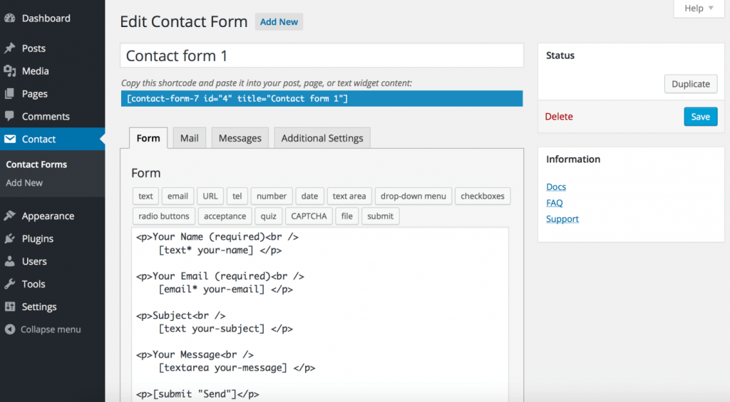 5 Best Free WP Contact Form Plugins for WordPress Compared (2016)