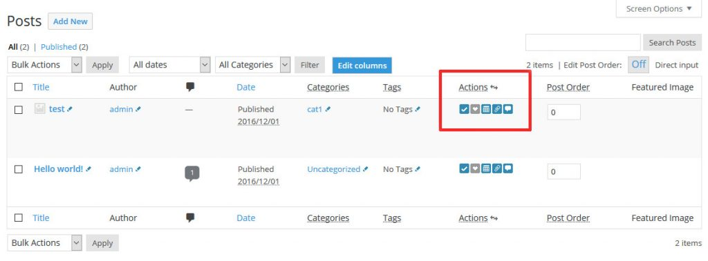 admin management xtended wordpress plugin to customize wordpress admin dashboard