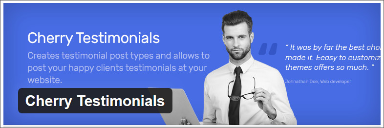 cherry testimonials WordPress testimonial Plugin