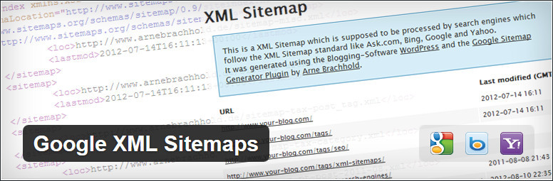 Google XML Sitemaps plugin for wordpress