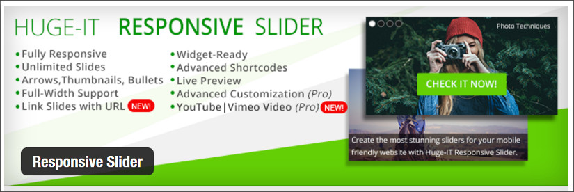 huge-IT responsive slider wordpress slider plugin